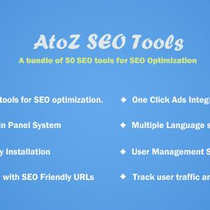 AtoZ SEO Tools 2.9 – Search Engine Optimization