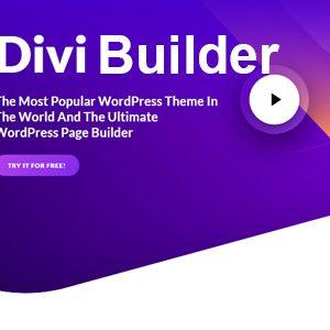 Divi Builder Visual Drag & Drop Builder