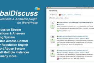 Sabai Discuss plugin for WordPress 1.4.10
