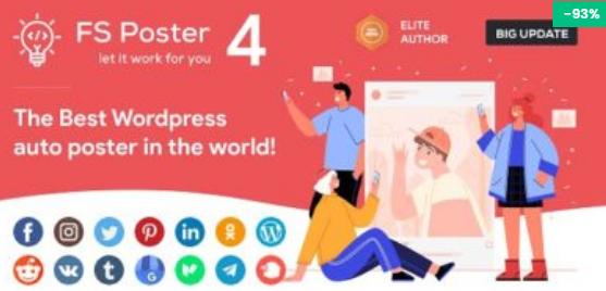 FS Poster 4.6.1 – WordPress Auto Poster